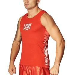 Leone 1947 Boxerhemd rot