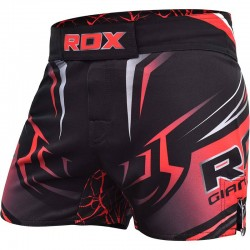 RDX MMA Fightshort R8 rot