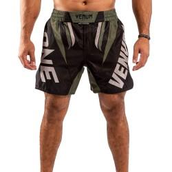 Venum One Fc Impact Fightshorts Black Khaki