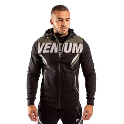 Venum One Fc Impact Hoodie Black Khaki