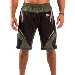 Venum One Fc Impact Training Shorts Black Khaki