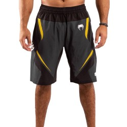 Venum One Fc Impact Training Shorts Grey Yellow