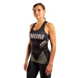 Venum One Fc Impact Tank Top Women Black Khaki