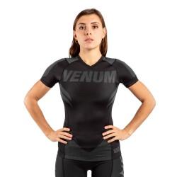 Venum One Fc Impact Rashguard SS Women Black Black