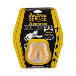 Benlee Breath Thermoplastic Mouthguard Yellow Clear