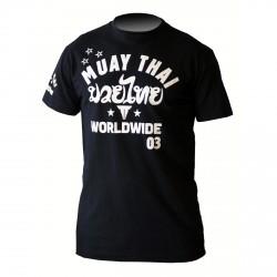 Throwdown Stripes T-Shirt Schwarz