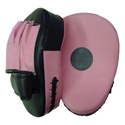 Handpratze Jumbo Pink Schwarz gekrümmt 1 Stk