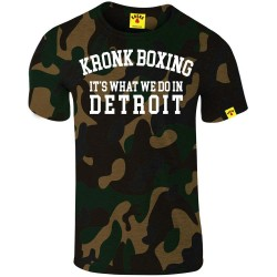 Kronk Boxing Detroit T-Shirt Slimfit Camouflage