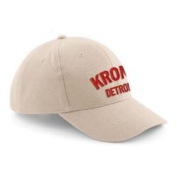 Kronk Detroit Basecap Stone Red
