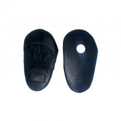 Handpratze Jumbo Schwarz Leder 1Stk