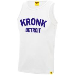Kronk Detroit Training Gym Vest White Navy