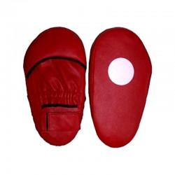Handpratze Jumbo Rot Leder