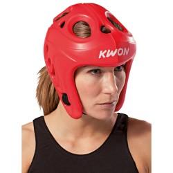 Kwon Shocklite Kopfschutz Rot Wako