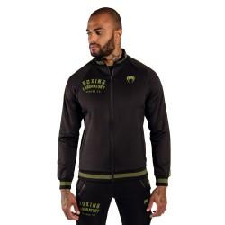 Venum Boxing Lab Track Jacket Black Green