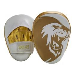 Super Pro Handpratzen Curved White Gold