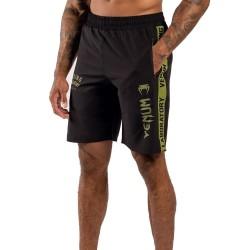 Venum Boxing Lab Training Shorts Black Green