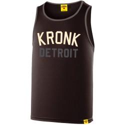 Kronk Detroit Two Colour Iconic Trainings Gym Vest Black