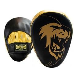 Super Pro Handpratzen Curved Black Gold