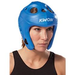 Kwon Shocklite Kopfschutz Blau Wako