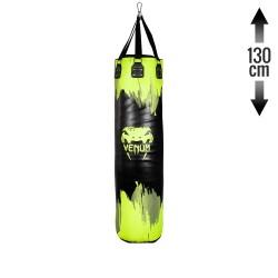 Venum Hurricane Boxsack Neo Yellow Black 130cm gefüllt