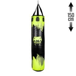 Venum Hurricane Boxsack Neo Yellow Black 150cm gefüllt