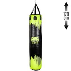 Venum Hurricane Boxsack Neo Yellow Black 170cm gefüllt