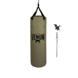 Venum Origins Boxsack Khaki Black 90cm gefüllt