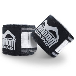 Phantom MT Pro Handwraps Black White 450cm
