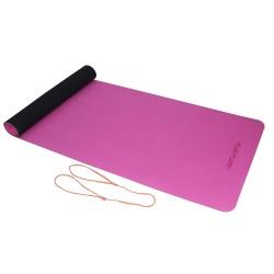 Tunturi TPE Yogamatte 4mm Schwarz Pink