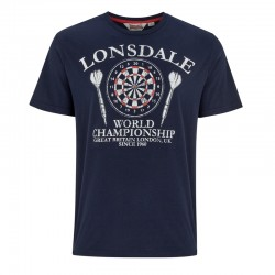 Lonsdale Edinburgh Herren T-Shirt Navy