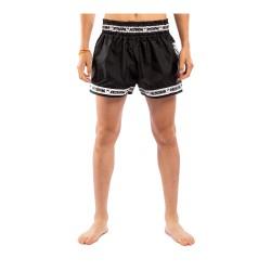 Venum Parachute Muay Thai Shorts Black White
