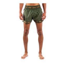 Venum Parachute Muay Thai Shorts Khaki Gold