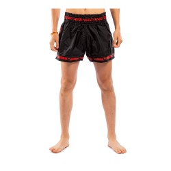 Venum Parachute Muay Thai Shorts Black Red