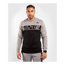 Venum Connect Crewneck Sweatshirt Black Dark Heather Grey