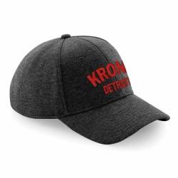 Kronk Detroit Basecap Charcoal