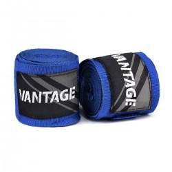 Vantage Combat Boxbandagen Blue 250cm