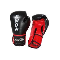 Kwon KO Champ Boxhandschuhe Schwarz Rot