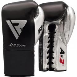 RDX Boxhandschuh Leder Pro FA3 schwarz