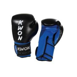Kwon KO Champ Boxhandschuhe Schwarz Blau