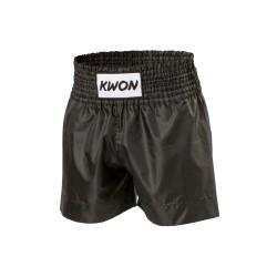 Kwon Thai Boxhose Schwarz