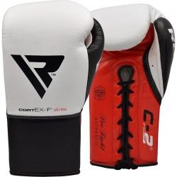 RDX Boxhandschuh Leder Pro FC2 weiss