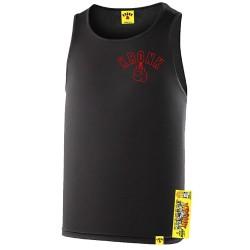 Kronk Outline Gloves Trainings Gym Vest Black