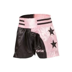Kwon Damen Short Pink Schwarz