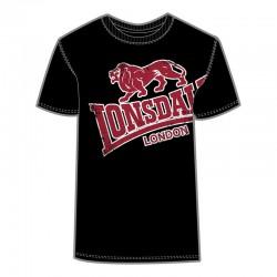 Lonsdale Plush Herren T-Shirt Black