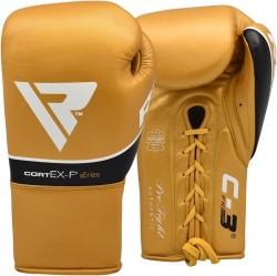 RDX Boxhandschuh Leder Pro FC3 golden