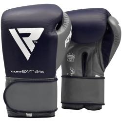 RDX Boxhandschuh Leder Pro blau