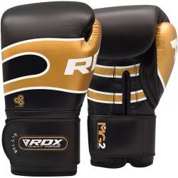 RDX Boxhandschuh Leder Pro S7 schwarz