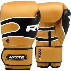 RDX Boxhandschuh Leder Pro S7 golden