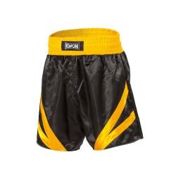 Kwon Thaibox Hose schwarz gelb