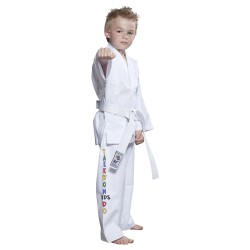 Top Ten Taekwondo Dobok ITF Kids Weiss